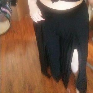Forever 21 Pants - Plus Size split leg pallazo pants